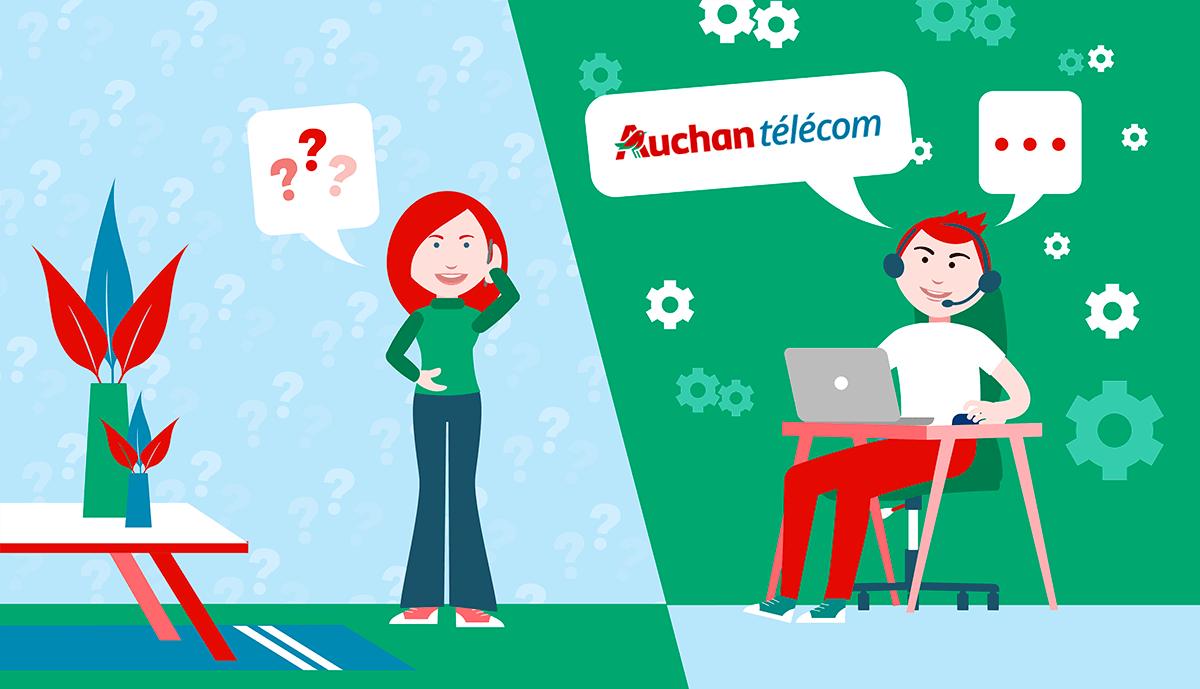 Service client Auchan Telecom