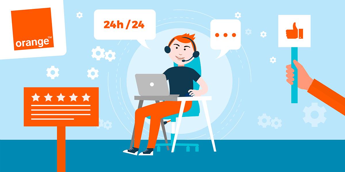 Service client Orange : avis sur l'opérateur