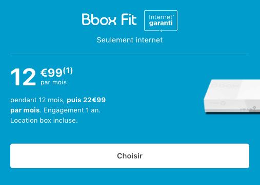 Box internet pas chère chez Bouygues Telecom en ADSL.