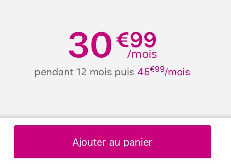 Forfait illimité Sensation pour un Mate 20 Pro de Huawei pas cher chez Bouygues Telecom.