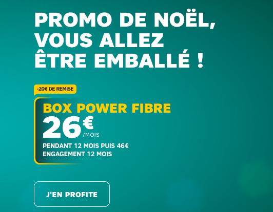 Box internet pas chère pour accompagner un forfait et le Galaxy S9 de Samsung en promotion de Noel chez SFR.