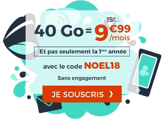 Cdiscount Mobile promotion forfait mobile valable à vie.