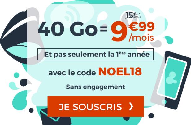 Cdiscount Mobile forfait 4G en promotion.