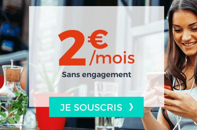 Forfait Cdiscount mobile pas cher 2€/mois
