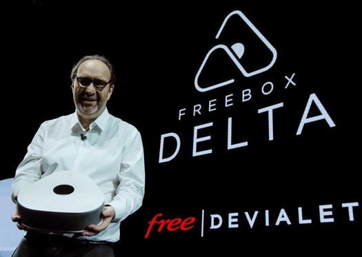 Stéphane Richard, dirigeant d'Orange, a commenté la Freebox Delta de Free.