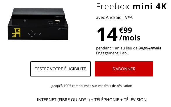 Box internet pour un forfait pas cher chez Free Mobile.