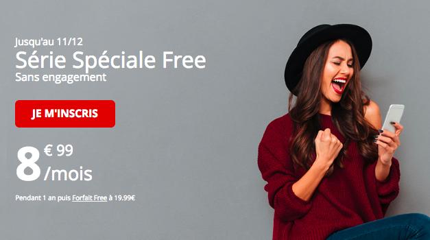 Le forfait 60 Go de Free mobile.