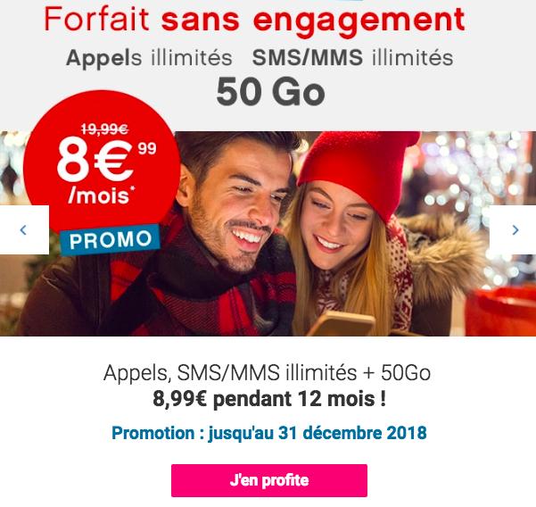 Le forfait 50 Go de Coriolis.