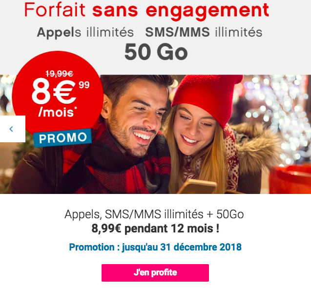 La promotion 4G de Coriolis Telecom.