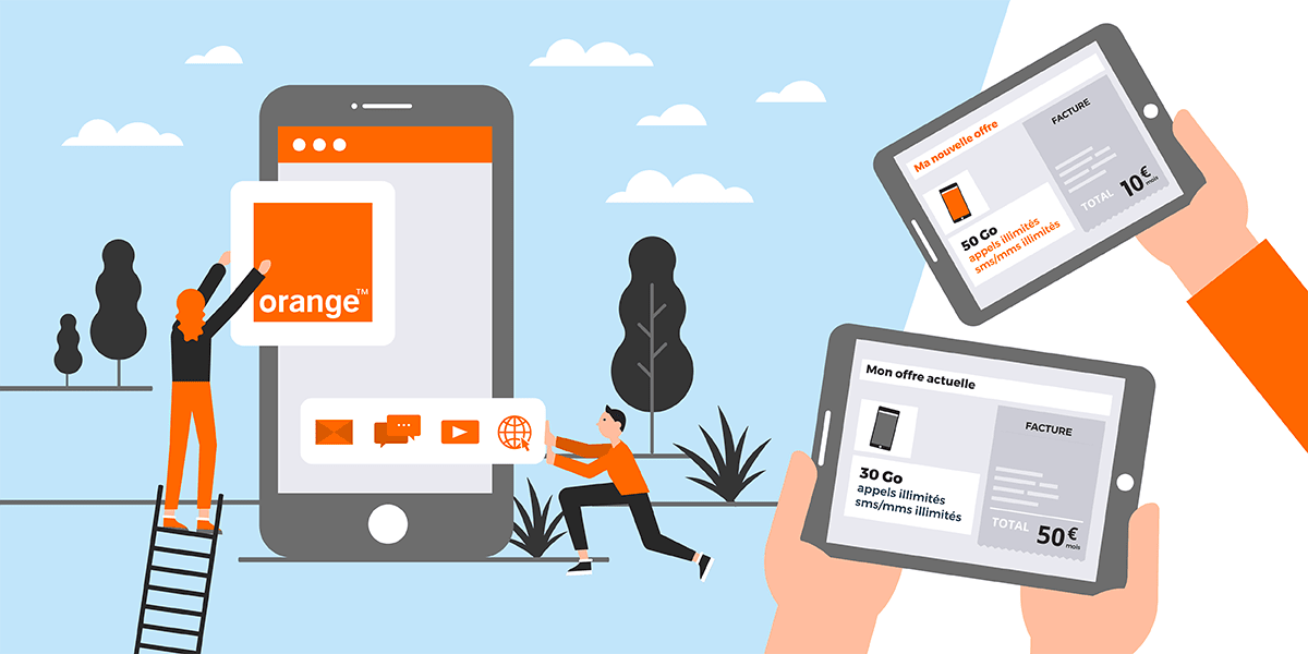 Forfaits mobiles d'Orange