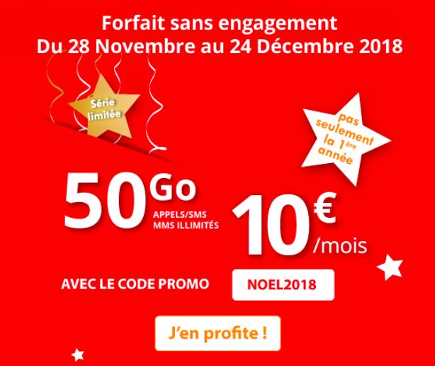 Le forfait pas cher d'Auchan Telecom.