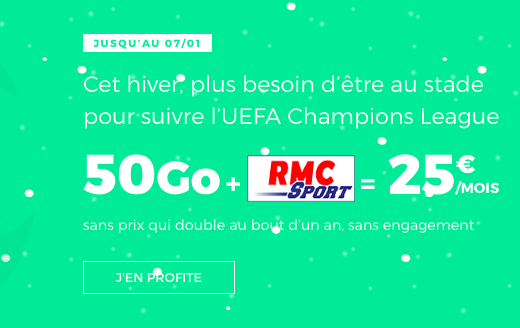 RMC Sport forfait RED