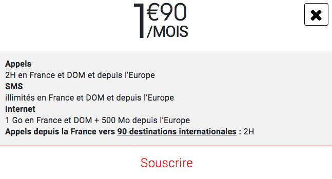 Forfait Syma Mobile pas cher à 2€/mois.