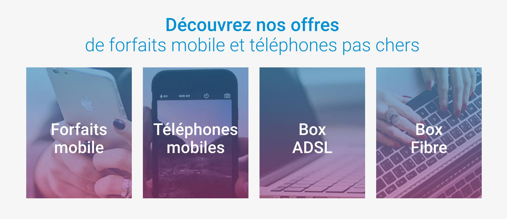 Forfaits et services Coriolis Télécom