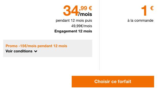 100 go de 4G avec un forfait pas cher pour Noël chez Orange.