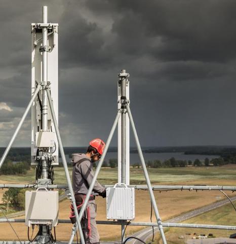 Hivory, constructeurs d'antennes 4G et 5G pour la France grâce à SFR.