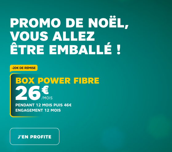 Box internet fibre optique de SFR à bas prix pour réduire le coût du forfait 50 Go avec un Samsung Galaxy S9 pas cher.