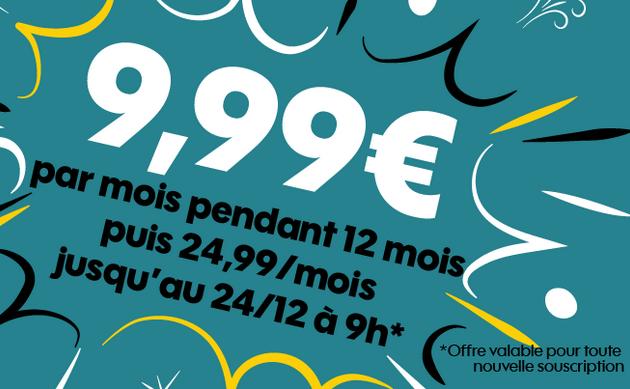 Pour Noël, Sosh offre 15€/mois sur son forfait pas cher avec 50 Go d'Internet 4G.
