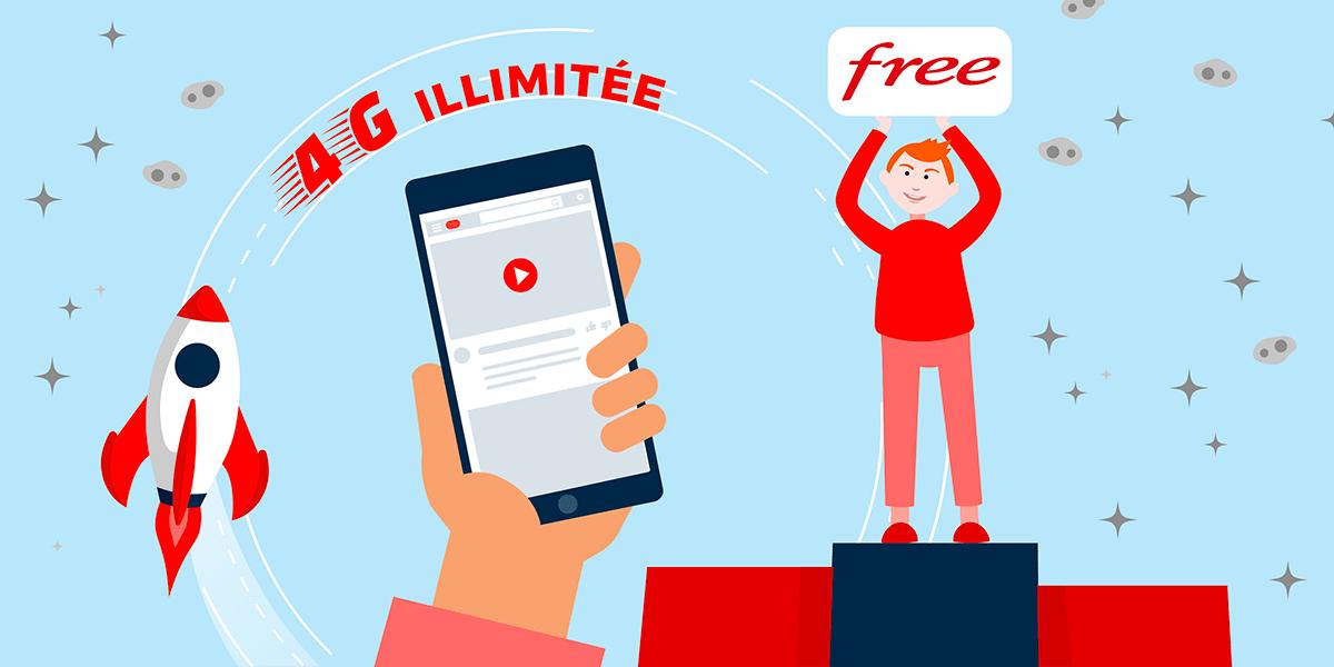 4G illimitée Free mobile
