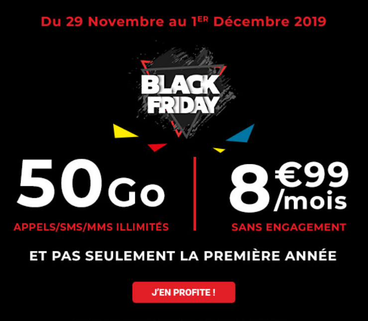 Black Friday de Auchan Telecom