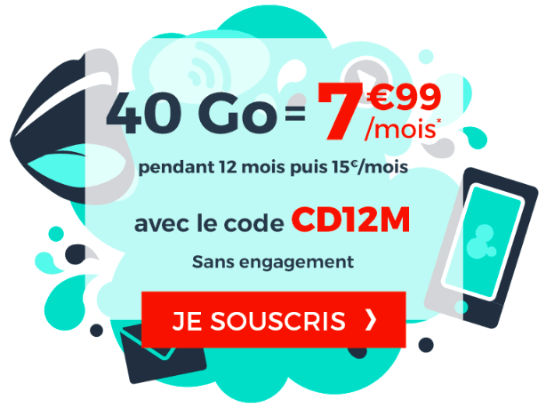 la promotion de Cdiscount Mobile.