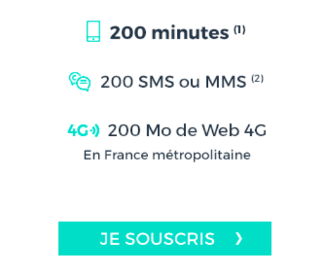 Forfait cdiscount mobile 2€