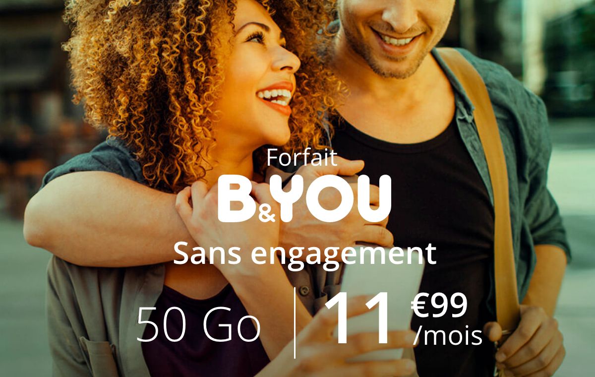 Le forfait Black Friday de B&YOU
