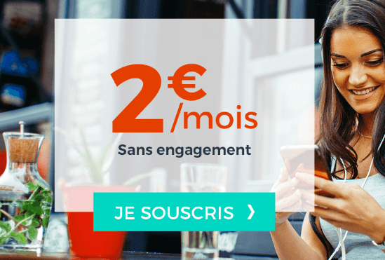 Forfait mobile Cdiscount à 2€ par mois