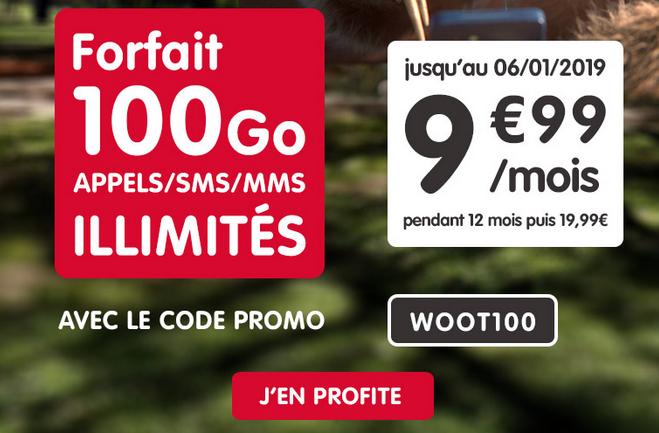 Code promo chez NRJ mobile pour forfait 4G pas cher.