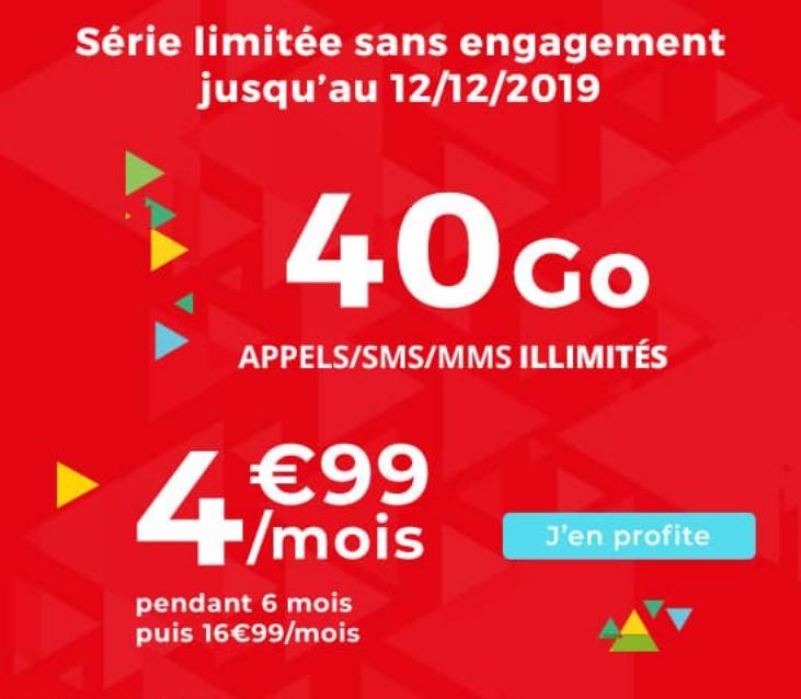 Le forfait Noël d'Auchan Telecom