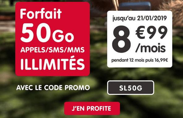 NRJ mobile forfait 4G en promotion avec code promo.