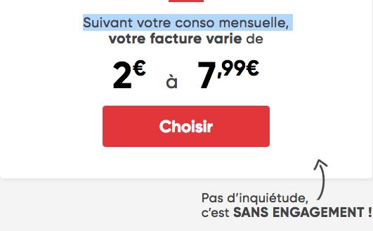Prixtel forfait mobile pas cher à partir de 2€/