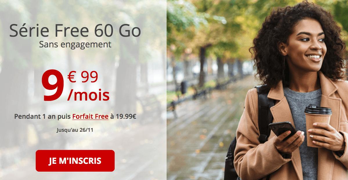 forfait 60 Go de free