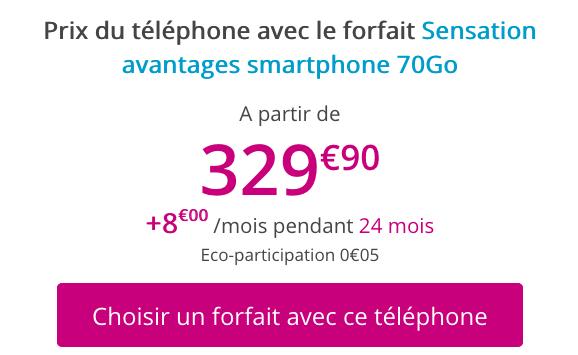 Forfait 4G avec 70 Go de data et un iPhone XR pas cher chez Bouygues Telecom.