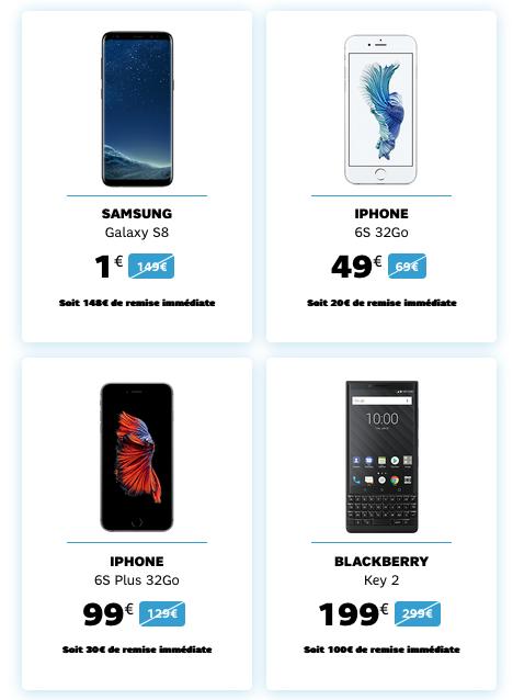 Des smartphones pas cher en promotion chez SFR grâce aux soldes d'hiver 2019.
