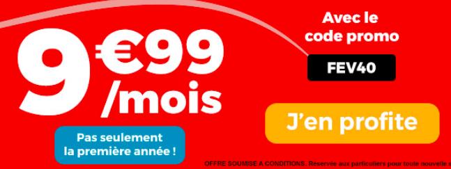 La promotion signée Auchan Telecom.