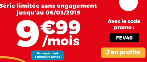 Forfait pas cher et sans engagement chez Auchan Telecom.