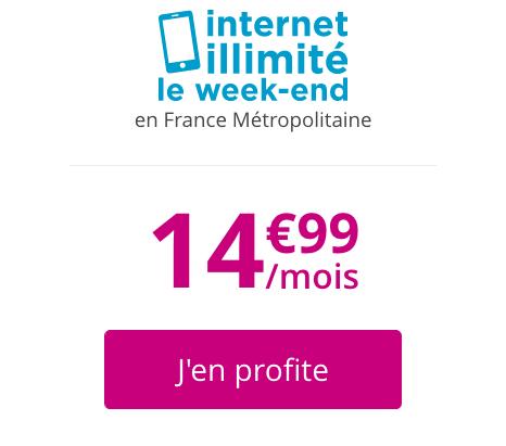 B&YOU et le forfait pas cher sans engagement : 14,99€ pour 50 Go de data.