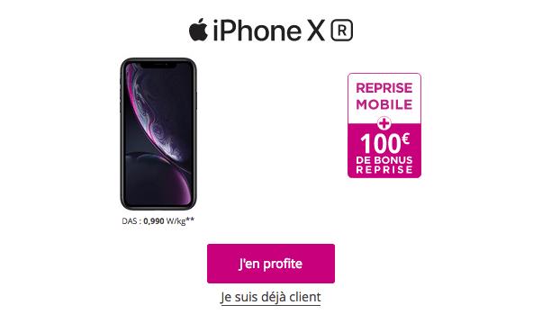 L'iPhone XR est en promo chez Bouygues Telecom.