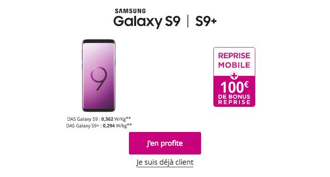profiter du bonus de reprise de Bouygues Telecom pour acheter le Galaxy S9 pas cher.