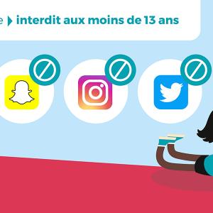 Controle parental des réseaux sociaux sur smartphone