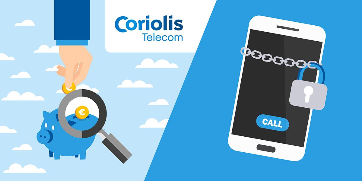 Forfait bloqué Coriolis Telecom