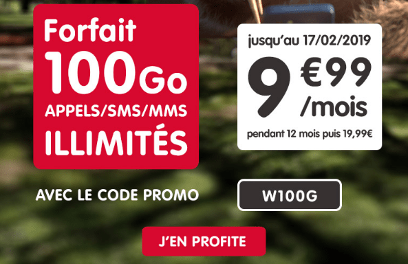 Promotion forfait NRJ mobile avec code promo.