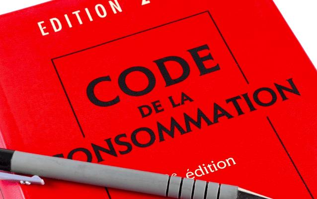 Code de la consommation.