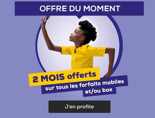 La Poste Mobile offre deux mois sur ses forfaits mobiles ou box internet.