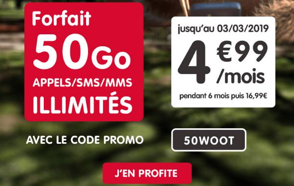 NRJ Mobile promotion forfait 4G pas cher et sans engagement.