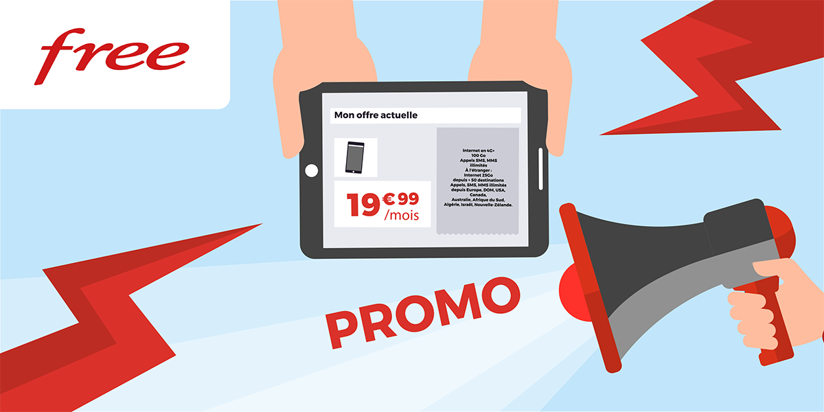 Promos Free mobile