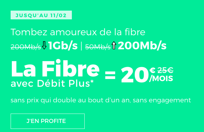 La fibre de RED by SFR.