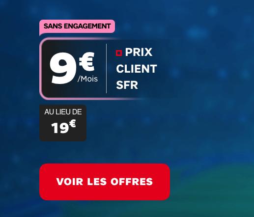 Un forfait mobile pour payer moins cher RMC Sport chez SFR.