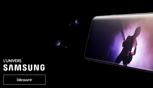 Samsung Galaxy S9 pas cher Bouygues Telecom.